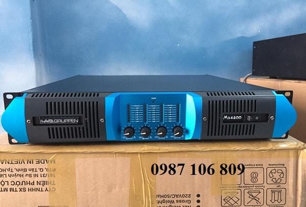 Mặt trước Cục đẩy LABGRUPPEN MX-4800