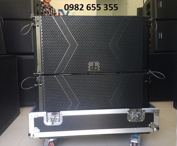 Loa array DB LA-212F tại Ngọa Long audio