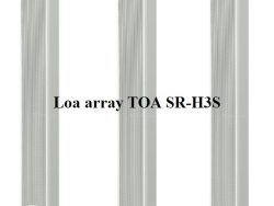Loa array TOA SR-H3S