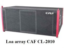Loa array CAF CL-2010 series CL
