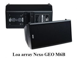 Loa array Nexo GEO M6B